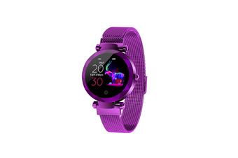 Women's Intelligent Watch Heart Rate and Blood Pressure Monitoring Sports Watch  PURPLE