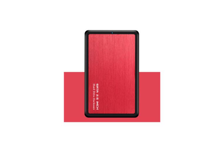 Mobile Hard Disk Box USB3.0 Laptop Hard Disk Box SSD Hard Disk Box  RED