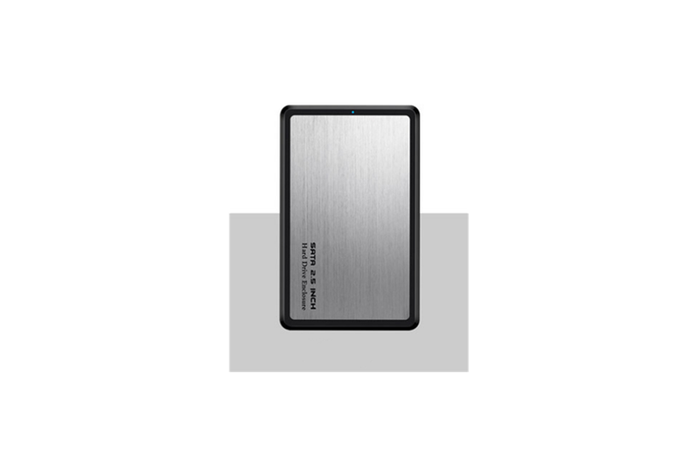 Mobile Hard Disk Box USB3.0 Laptop Hard Disk Box SSD Hard Disk Box  SILVER