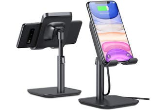 Wireless Charger, [Angle&Height Adjustable] Cell Phone Wireless Charging Stand, 10/7.5W Fast Wireless Charger for iPhone 11/Pro/Max/X/XR/XS Max