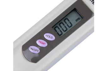 Pure Water Test PenDigital TDS-3 Handheld Meter 0-9990 ppm Range - Beige