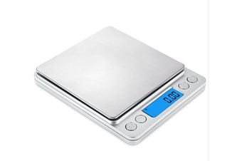 Digital Kitchen Mini Pocket Cooking Food Scale - Milk White