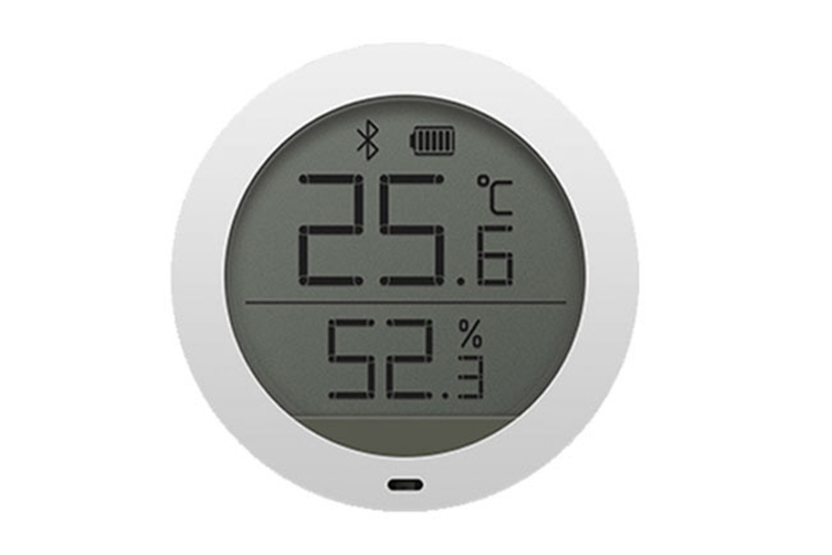 Low Energy Consumption LCD Screen Smart Home Wireless Temperature Humidity Sensor Thermostat