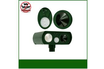Ultrasonic Animal Repeller–Sonic Deterrent for Bird Deer Cat Dog Raccoon Fox - Garden Protection