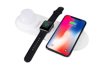 Wireless Charger,Night Light with Warm Eye Color Temperature,Wireless Charging Stand