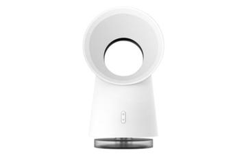 3 in 1 Bladeless Mini Desktop Fan Humidifier LED Light