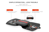 Massage Magic Label Massager Electric Stimulator Body Relax Muscle Therapy 5 Modes 10 Intensity 15 Minutes Auto-BLACK
