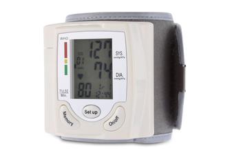 Portable Digital Automatic Wrist Blood Pressure Cuff Monitor Upper Arm Health Care Accurate Home Blood Pressure Monitor
