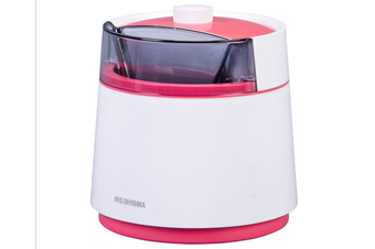 Ice Cream Maker Home Automatic Large Capacity DIY Homemade MiniIce Maker-PINK