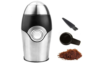 Coffee Grinder Electric - Small & Compact Simple Touch Blade Mill - Automatic Grinding Tool Appliance for Whole Coffee Beans, Spices, Herbs & Nuts