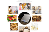 Digital Scale Kitchen, Multifunction Digital Kitchen Food Scale,Weight Scale Grams and Oz, Stainless Steel High Precision Small Elegant