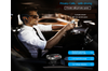 Bluetooth FM Transmitter for Car with Earphone, Wireless Radio Adapter in Car Kit, Support USB Flash Drive Music Player