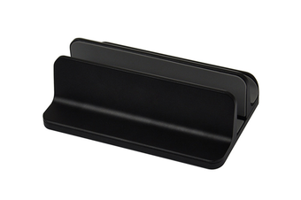(Upgraded Version) Vertical Laptop Stand, Desktop Stand Adjustable Laptop Holder (up to 17.3 inches)-BLACK
