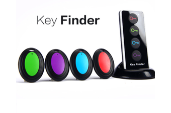 Key finder for Pet and Wallet, Wireless RF Remote Control Keychain Finder with LED Flashlight, Item locator for Pet Tracker in Home