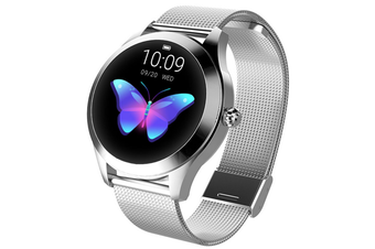 Smart Watch , Round Touch Screen Waterproof Smartwatch for Women's Period, Fitness Tracker with Heart Rate & Sleep Pedometer, Bracelet for iOSAndroid