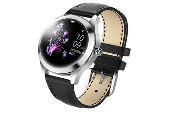 Smart Watch, Round Touch Screen Waterproof Smartwatch for Women's Period, Fitness Tracker with Heart Rate & Sleep Pedometer, Bracelet for iOSAndroid