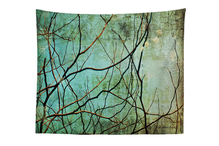 """Wall Hanging Decor Nature Art Polyester Fabric Tapestry, For Dorm Room, Bedroom,Living Room -51"""" x 60"""" (130cmx150cm)-939"""