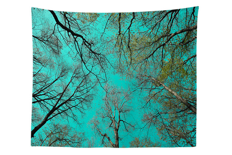 """Wall Hanging Decor Nature Art Polyester Fabric Tapestry, For Dorm Room, Bedroom,Living Room -60"""" x 60"""" (150cmx150cm)-942"""