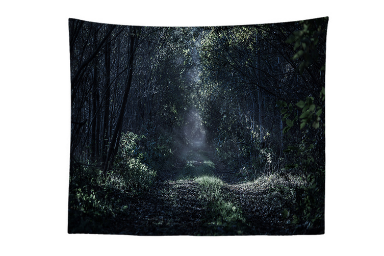 "Wall Hanging Decor Nature Art Polyester Fabric Tapestry, For Dorm Room, Bedroom,Living Room -60"" x 80"" (150cmx200cm)-879"