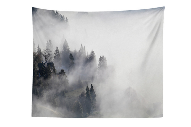 """Wall Hanging Decor Nature Art Polyester Fabric Tapestry, For Dorm Room, Bedroom,Living Room -60"""" x 90"""" (150cmx230cm)-880"""