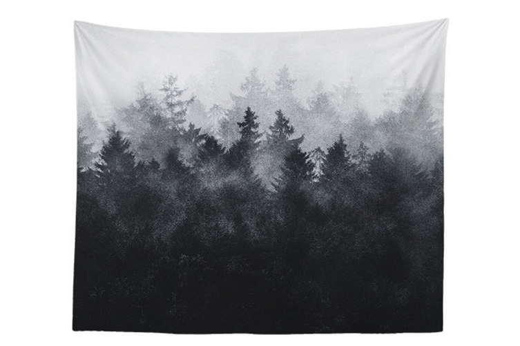 """Wall Hanging Decor Nature Art Polyester Fabric Tapestry, For Dorm Room, Bedroom,Living Room -60"""" x 90"""" (150cmx230cm)-881"""