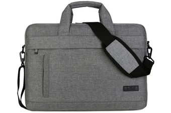 13.5 Inch Laptop Shoulder Bag for 13-inch MacBook Pro, MacBook Air, Surface Book, Surface Laptop, Multi-Functional Laptop Messenger Bag-Dark Gary