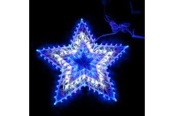 120 LED Blue/White Star Christmas Light