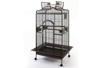 Grande Open Roof Bird Parrot Aviary Cage