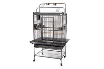 Flyline Grey Palace Play Top Bird Cage Parrot Aviary 13333