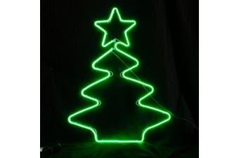 Animated Neon LED Light Christmas Tree with Star 7 Flashing Models