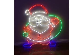 LED Neon Santa Clause Light For Christmas Window Decoration