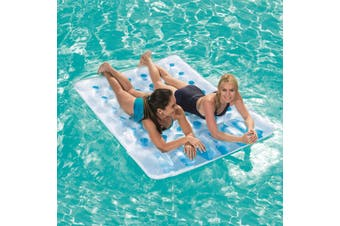 Double Pool Beach Inflatable Floating Bed Lounge