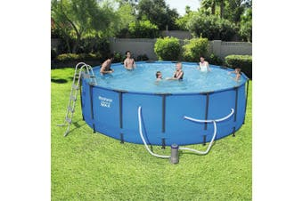 15ft Bestway Steel Pro Max Above Ground Swimming Pool 457cmx122cm 56439
