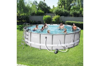 Bestway Steel Pro Frame Above Ground Swimming Pool 18ft 56459 547cm