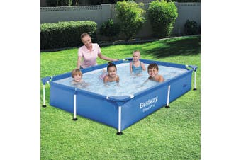 Bestway Splash Jr. Frame Pool 1200L for Kids 2.21m x 1.5m x 43cm