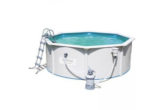 Bestway 12ft Hydrium Steel Sidewall Swimming Pool 3.6 x 1.2m