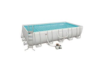 Bestway Steel Frame Above Ground Swimming Pool 22ft 6.7m 56662 Sand Filter PUmp