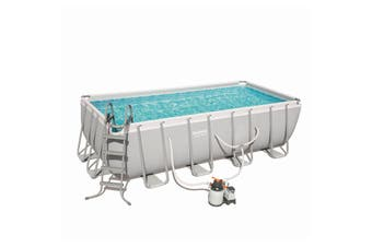 Bestway 56673 Swimming Pool with Sand Filter Pump 488x244x122cm