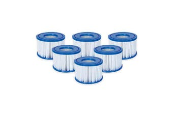 6x Lay Z Spa Filter Cartridge Size VI 58323 Bestway