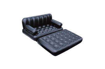 Bestway Inflatable 5 in 1 Double Air Bed Mattress Couch Sofa with Electric Pump