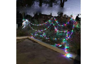 55M LED Christmas Fairy Light Clear String Multi Color