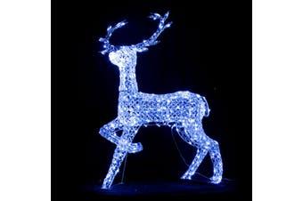 3D Acrylic LED Reindeer for Christmas Lighting Decoration 127cm
