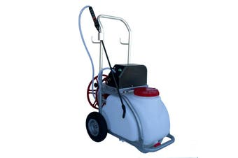 30L Electric Weed Pest Control Sprayer with Tank 12V Battery Spray Pump Trolley