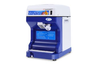 Commercial Ice Shaver Snow Cone Smoothie Machine 120kg/h