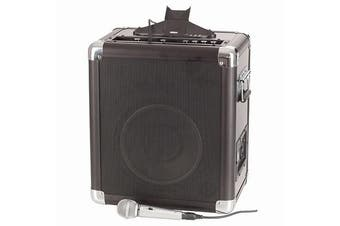 10 Portable Amplifier Speaker PA System with iPad iPhone Dock""