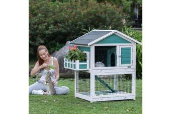 Flyline Garden Window Rabbit Hutch Cage