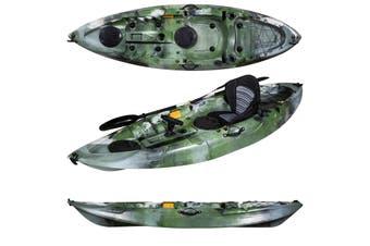 Single Sit on Fishing Kayak Camo