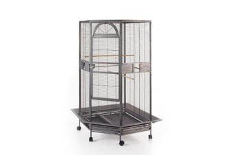 Parrot Escape Jumbo Corner Bird Cage