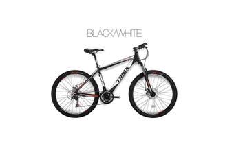 Trinx MTB Mens Mountain Bike 26 inch Shimano Gear 21-Speed 19 Inches Blue/White