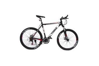 Trinx MTB Mens Mountain Bike 26 inch Shimano Gear 21-Speed 21 Inches Blue/White